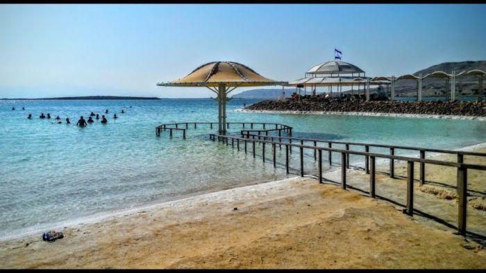 Где находится Мертвое море