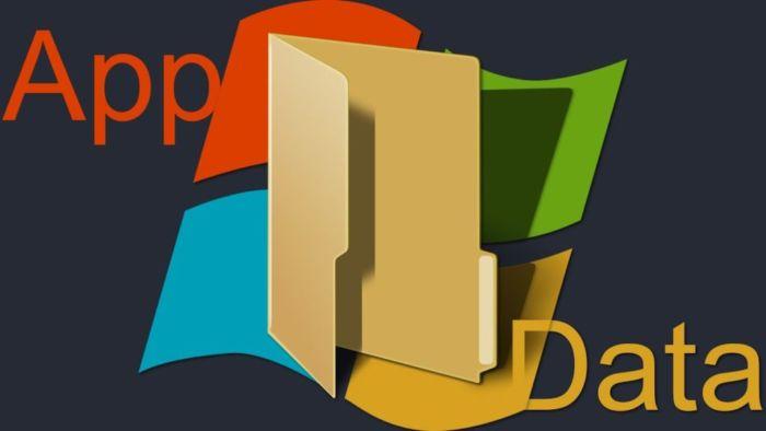Где находится AppData на Windows 10