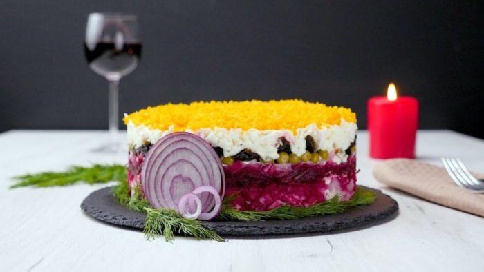Салат «Граф», рецепт с фото