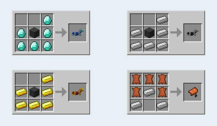 Как сделать седло в Майнкрафт