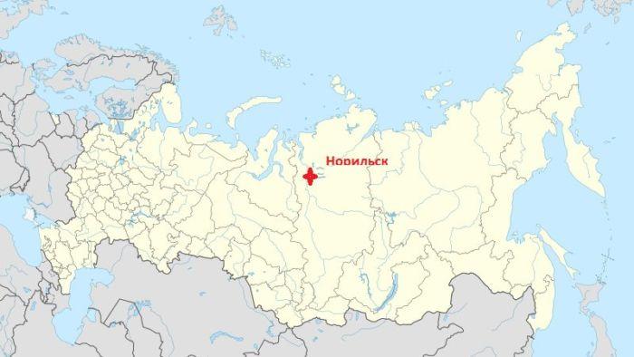 Где находится Норильск
