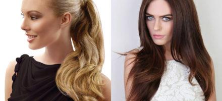 Как выбрать накладные волосы