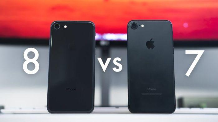 Чем 7 айфон отличается от 8