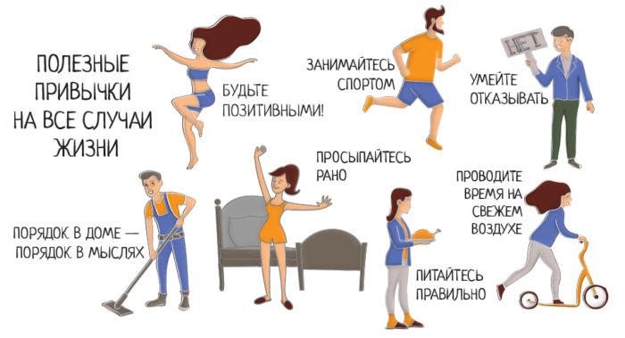 Полезные привычки – как привить