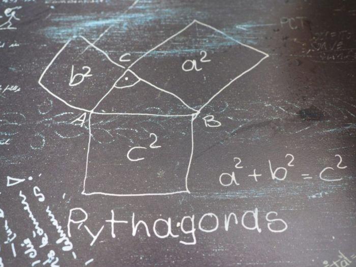 Как найти диагональ в прямоугольнике
