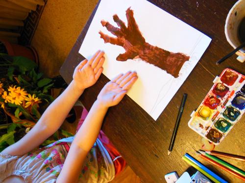 Как нарисовать осень легко и красиво