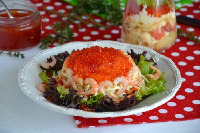 Салат «Царский», классический рецепт