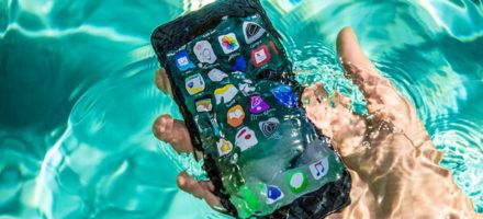 Что делать, если айфон упал в воду