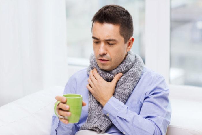 Что делать если болит горло