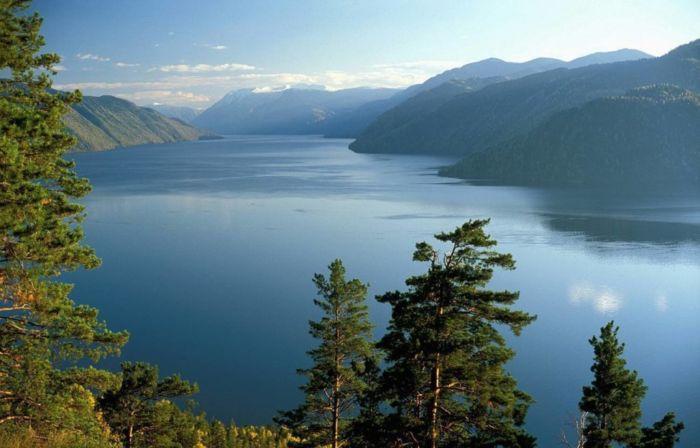 Где находится Телецкое озеро