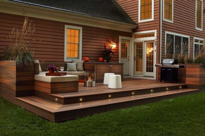Как построить террасу для загородного дома и дачи