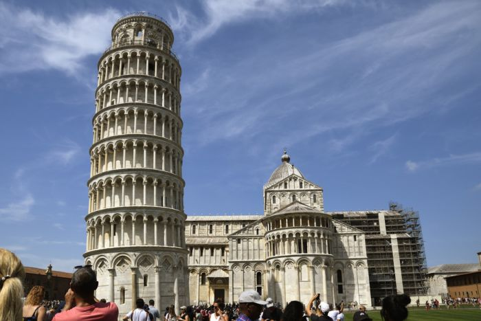 Где находится Пизанская башня