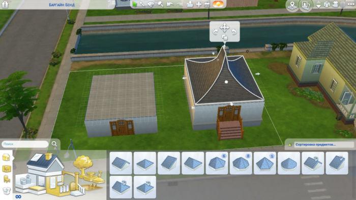 Как построить дом в Симс 4