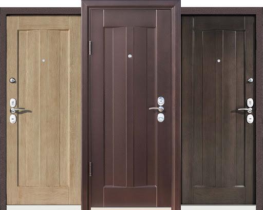 Мощные и красивые входные двери