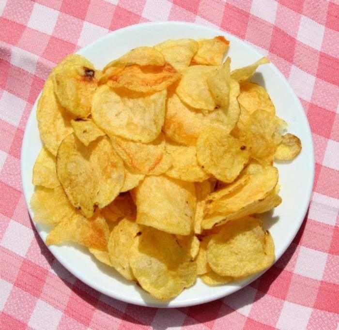 Как сделать чипсы