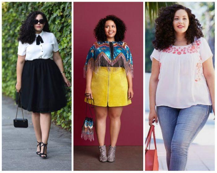 Какую одежду носить полным женщинам
